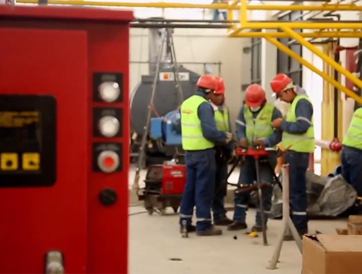 Implementamos sistemas de vapor en industrias